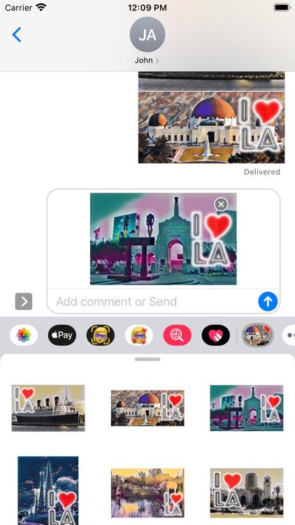 I Love LA Sticker Pack