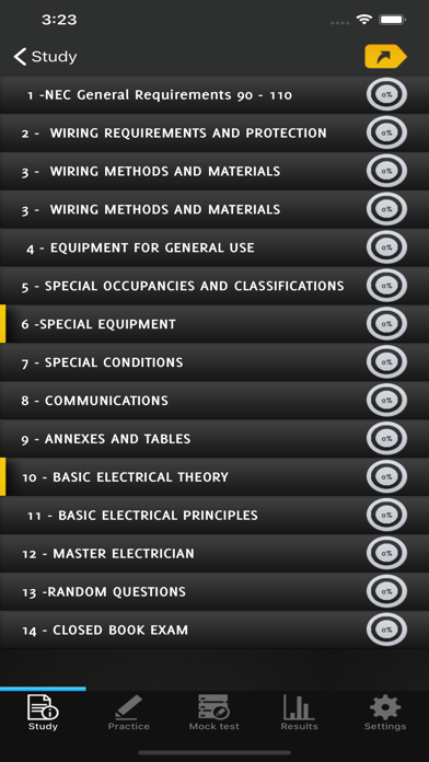 Master Electrician Exam 2020 screenshot 2