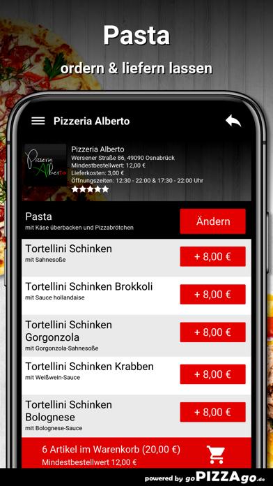Pizzeria Alberto Osnabrück screenshot 6