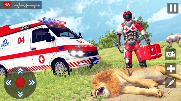 Animal Rescue Doctor Games 3D screenshot-3