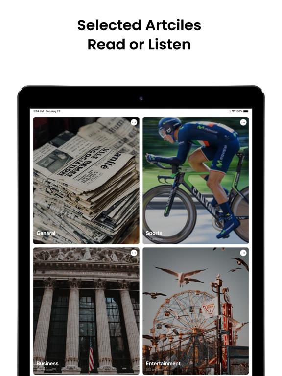 Audiofy -News Book Text Reader screenshot 13