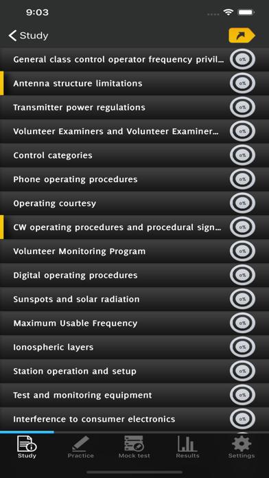 HAM Test Prep General Q&A screenshot 3