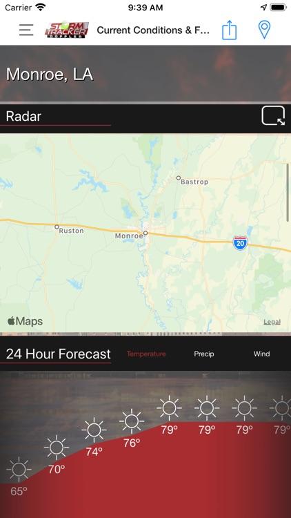 KTVE/KARD Weather screenshot-3