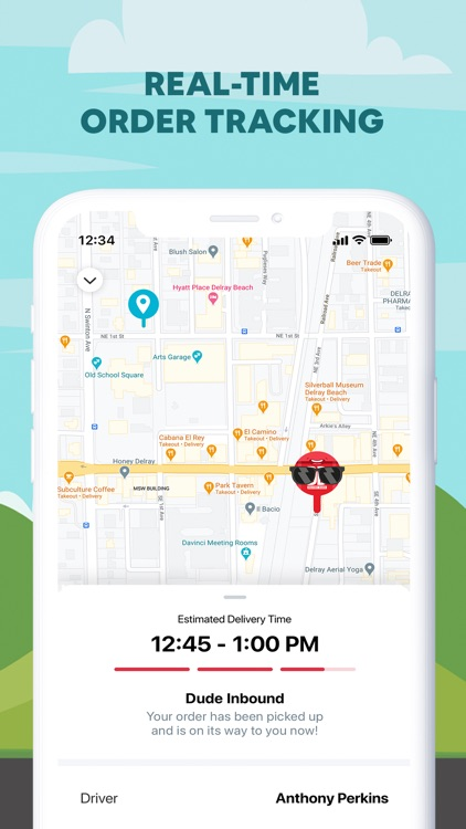 Delivery Dudes - Food Delivery screenshot-3