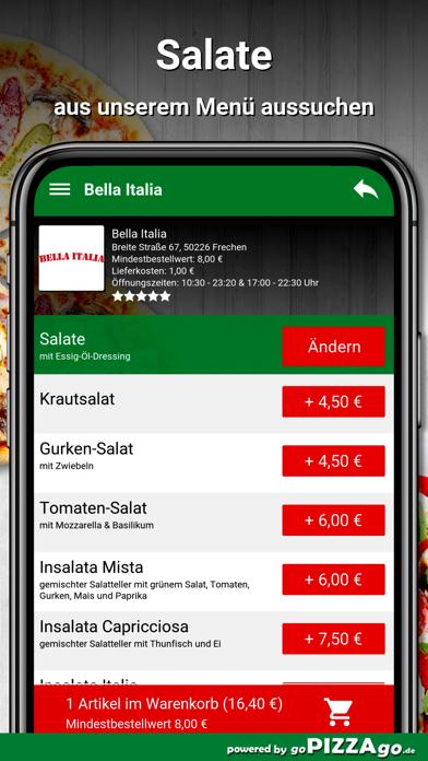 Bella Italia Frechen screenshot 5