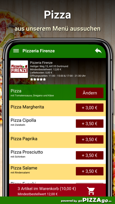 Pizzeria Firenze Dortmund screenshot 6