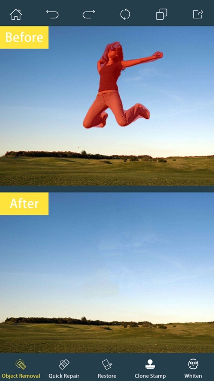 Photo Retouch-Object Removal