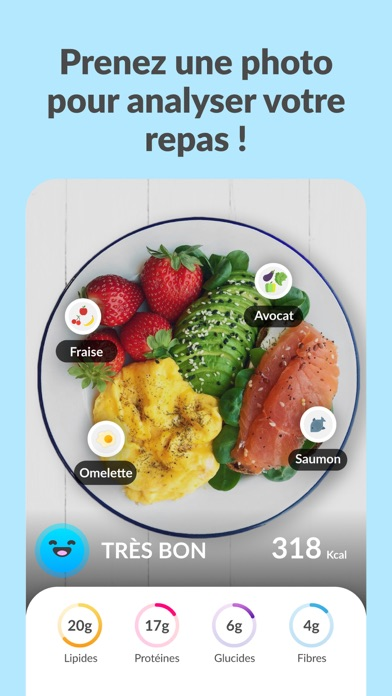 Foodvisor - Calorie et régime