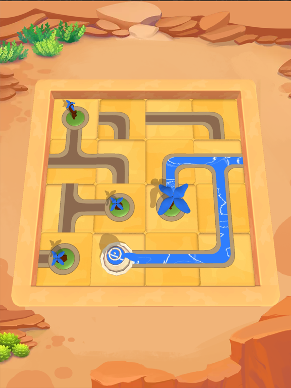 Water Connect Puzzleのおすすめ画像1