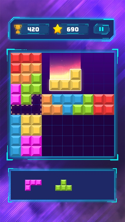 Brick Block Puzzle Classic screenshot-2