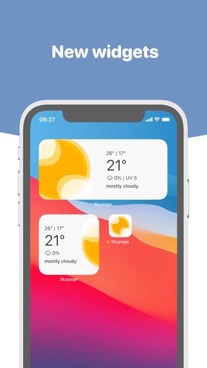 Skypage - Weather Forecast screenshot-3