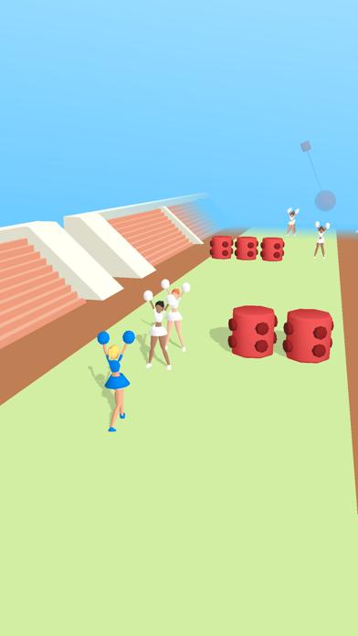 Cheerleader Run 3D screenshot 1