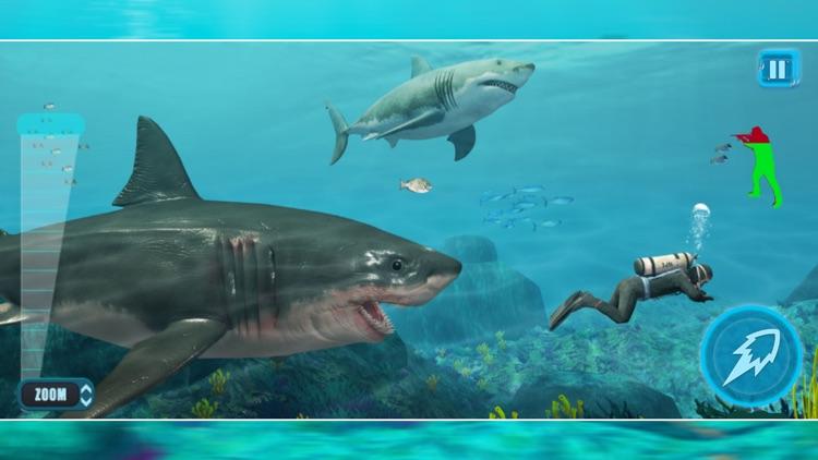 Hungry Shark Hunter Attack 3D screenshot-3
