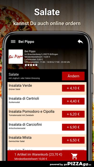 Bei Pippo Böfingen screenshot 5