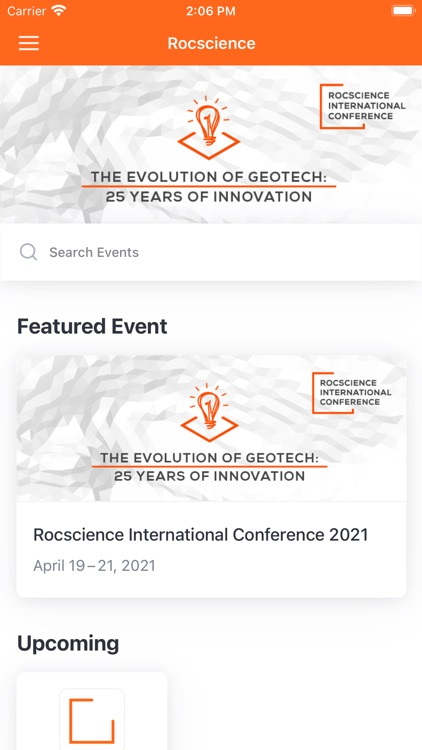 Rocscience Conference 2021