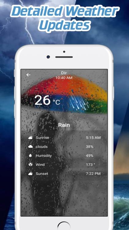 Live Weather Forecast screenshot-3