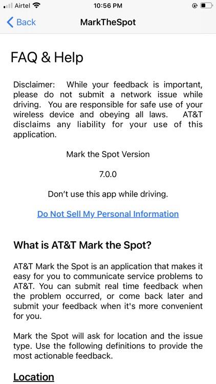 AT&T Mark the Spot screenshot-3
