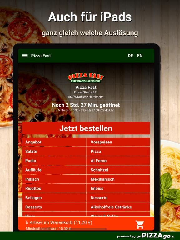 Pizza Fast Koblenz Horchheim screenshot 7