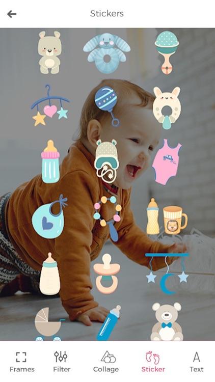 Baby Photo Editor & Baby Story screenshot-4
