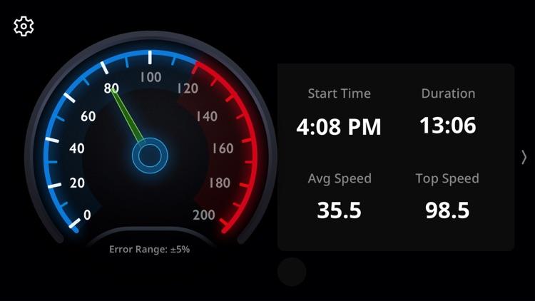 Auto GPS Speedometer for Trip screenshot-4