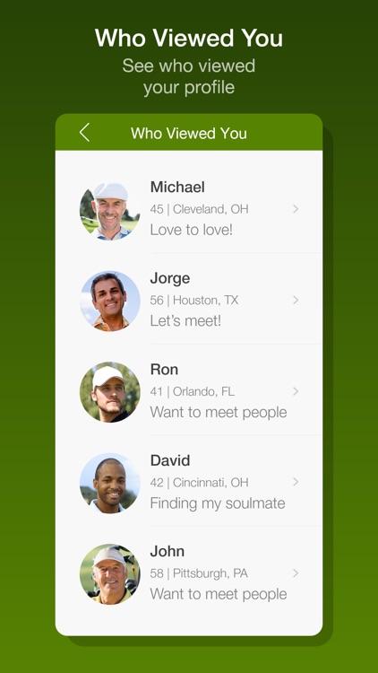 Meet Local Golfers Dating App screenshot-4