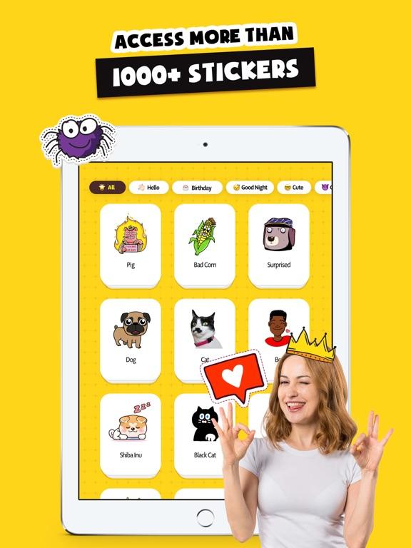Stickers Funny of Meme & Emoji screenshot 9