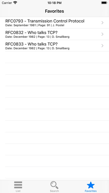 RFC View screenshot-5