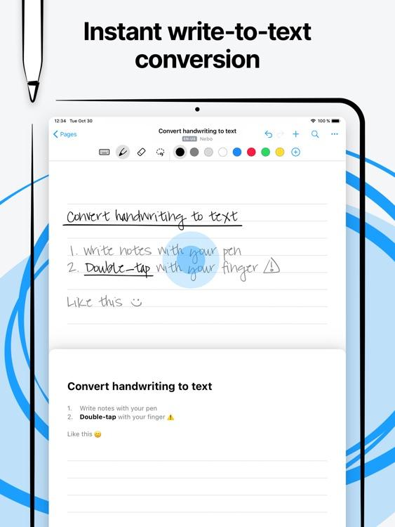 Nebo: Note-Taking & Annotation screenshot-4