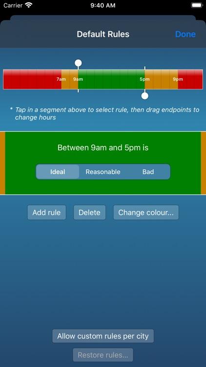 TimeScroller - timezone helper screenshot-5