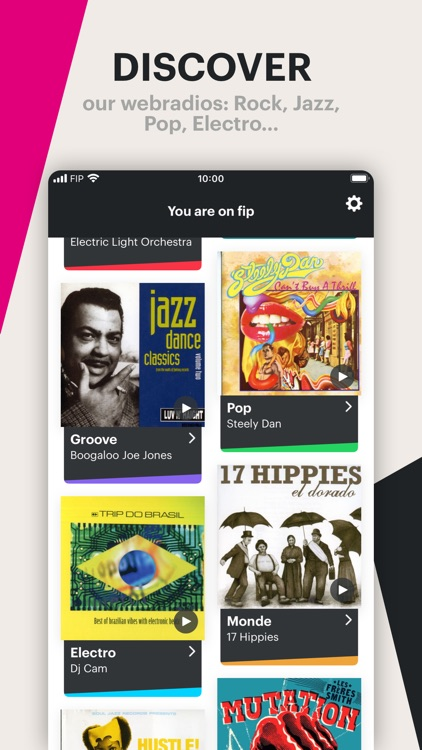 Fip – radio & music streams