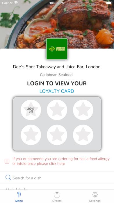 Dee's Spot Takeaway screenshot 1