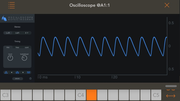 Oscilloscope & Spectrogram screenshot-4