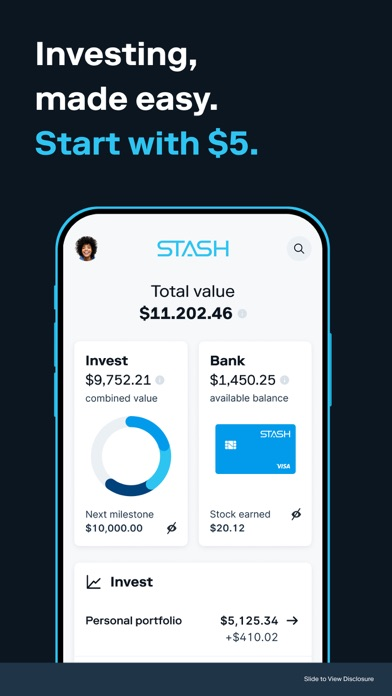 cancel Stash: Invest & Build Wealth app subscription image 1