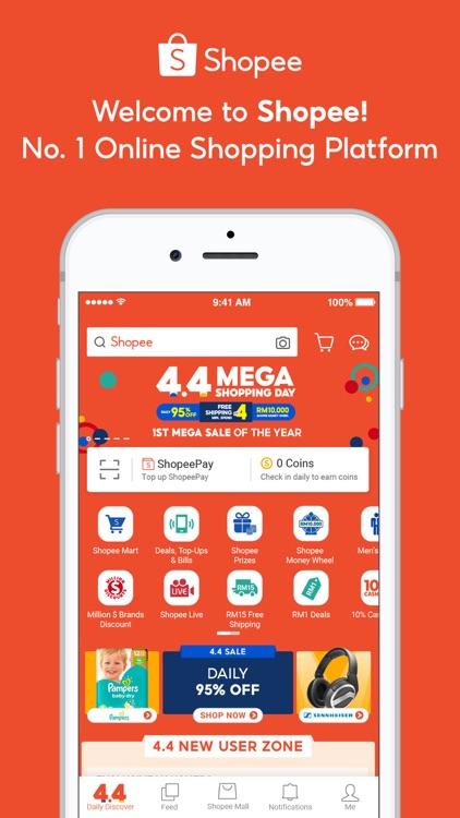 ShopeeMY 4.4 Mega Shopping Day screenshot-0