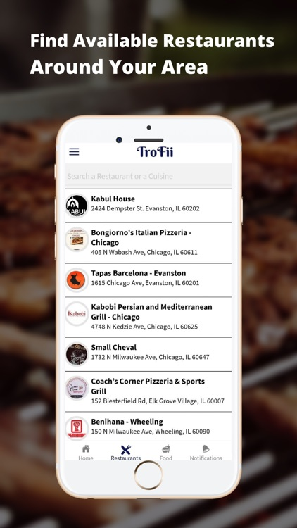 TroFii® – Picture Menu App screenshot-4