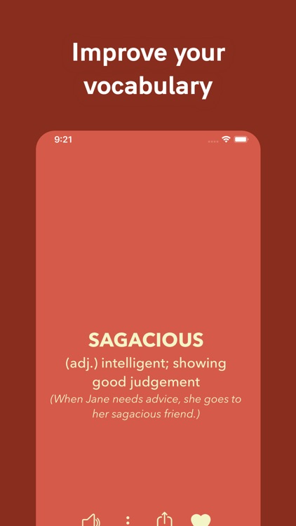 Vocabulary - Learn words daily