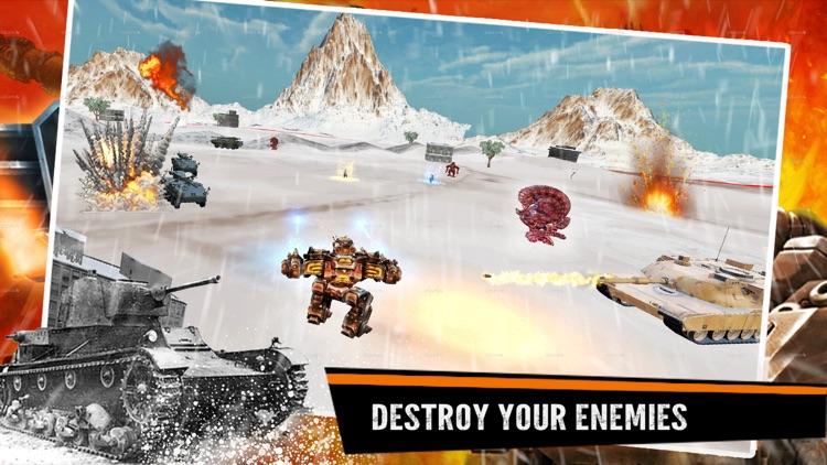 Robots War robot fighting game screenshot-3
