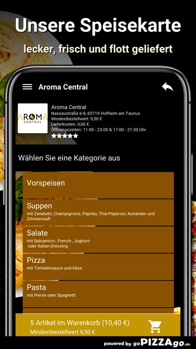 Aroma Central Hofheim screenshot 5