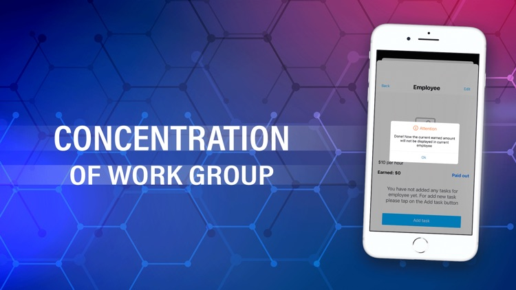 Concentration of work group