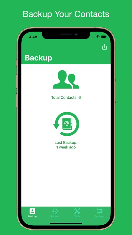Contacts Backup Utility