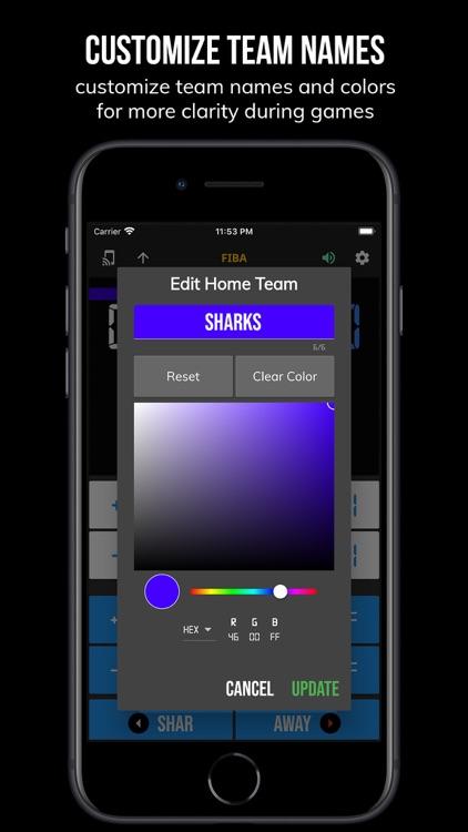BT Controller - Basketball screenshot-5