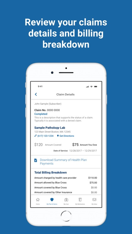 BCBSMA MyBlue Member App screenshot-5