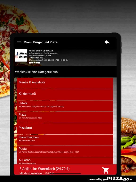 Miami Burger Augsburg screenshot 8