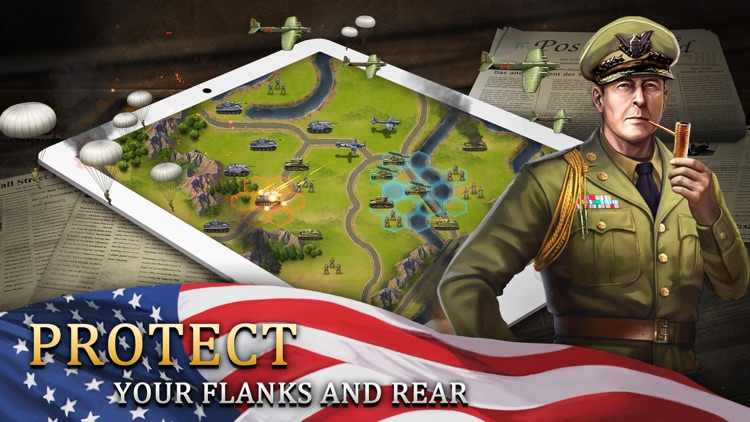 WW2: World War Strategy Games screenshot-3