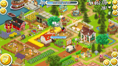 Screenshot from Hay Day