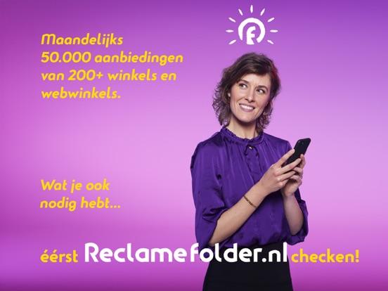 Reclamefolder iPad app afbeelding 1