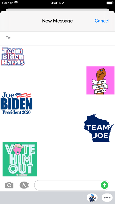 Animated Biden And Harris 2020 screenshot 1
