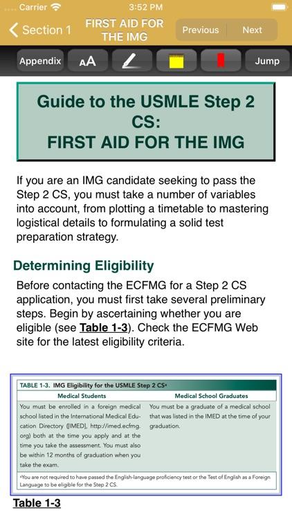 First Aid USMLE Step 2 CS, 6/E screenshot-3