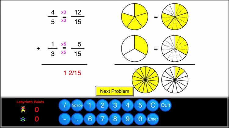 5th Grade Math - Math Galaxy screenshot-3