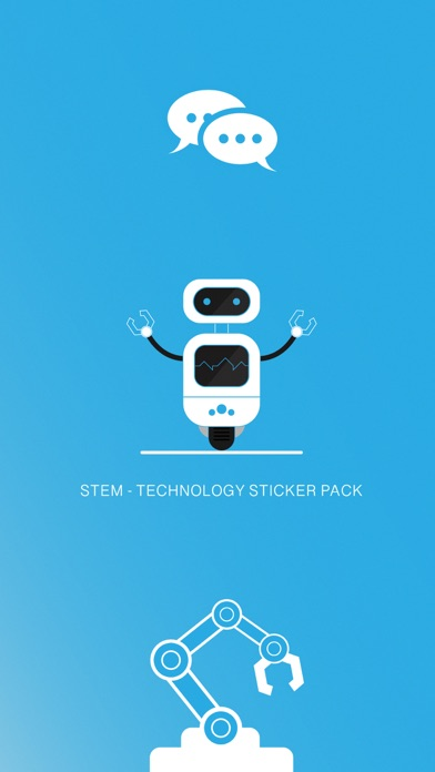 STEM - Technology Stickers screenshot 1